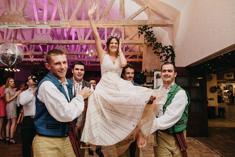 Huczne wesele w Bałtowskim Zapiecku