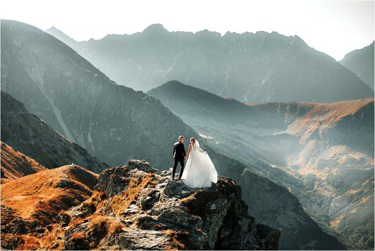Górska Sesja Ślubna
